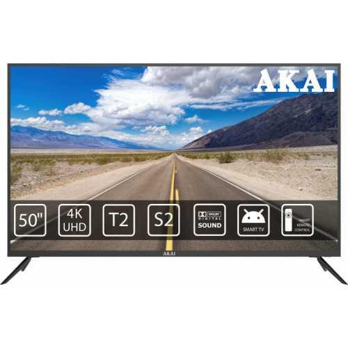 Фото Телевизор 55 дюймов (140 см) Смарт ТВ Akai UA55LEP1UHD9